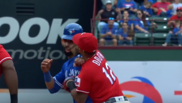 Rougned Odor Is Getting Treated Like Royalty Since Punching Joey Bats In The Jaw