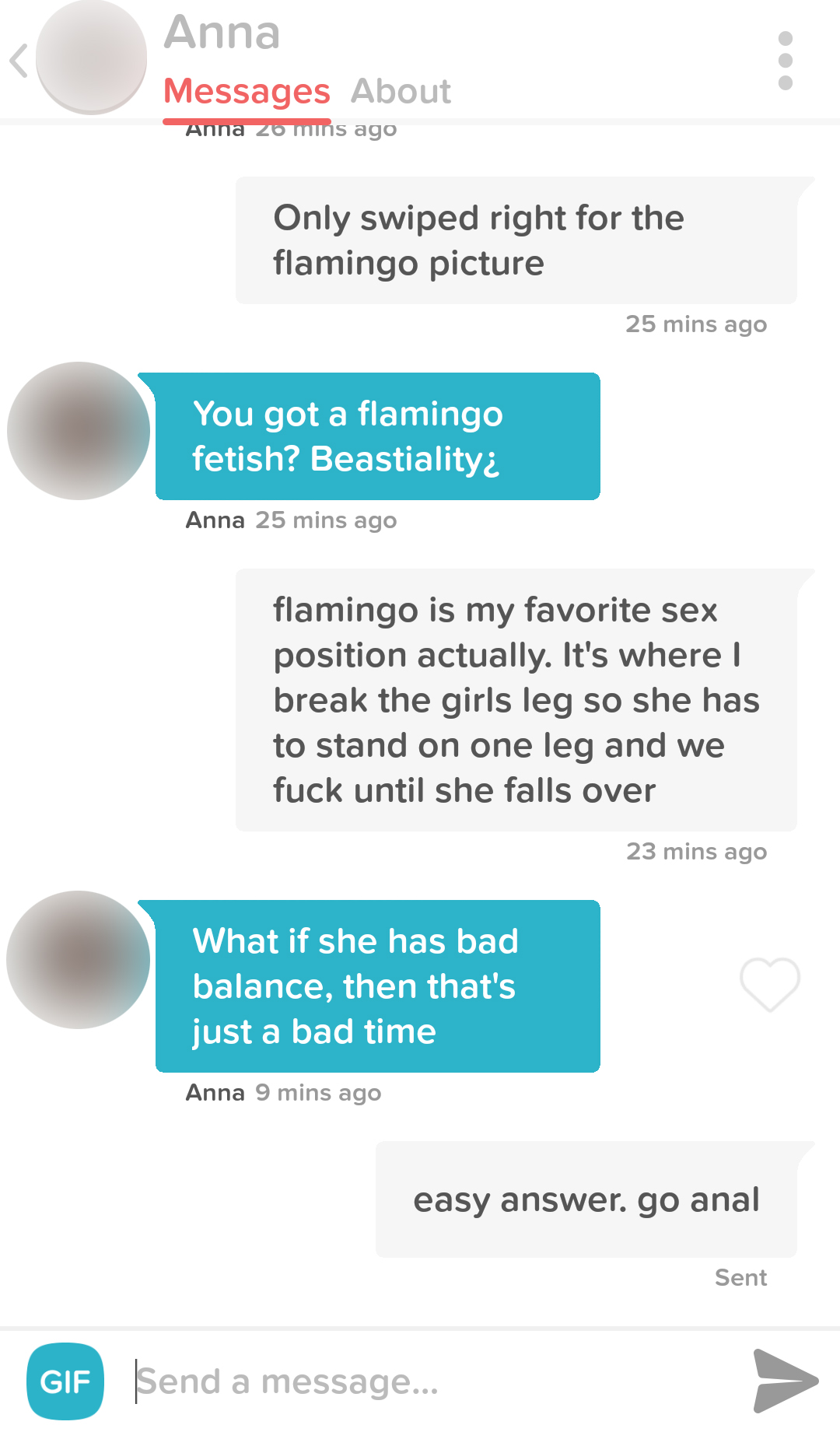 Anal pick up lines