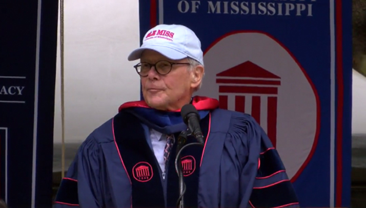 Tom Brokaw Takes Cheap Shot At University Of Alabama's Intelligence During Ole Miss Commencement