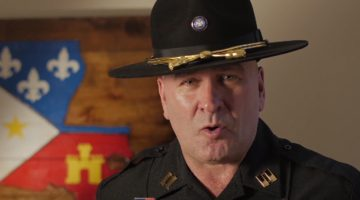 VIDEO- Captain Higgins Gives Powerful Speech Highlighting What America Is All About