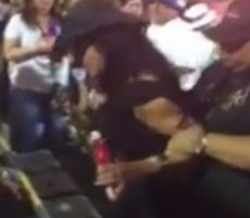 VIDEO- Super Drunk Girl Gave Cop Everything He Could Handle At LSU's Bayou Country Superfest