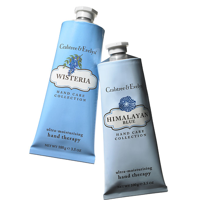 winter-wedding-color-scheme-blue-crabtree-and-evelyn-hand-lotion