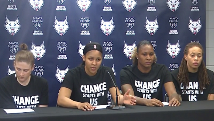 Four Minnesota Police Officers Take A Stance, Walk Out On WNBA Game
