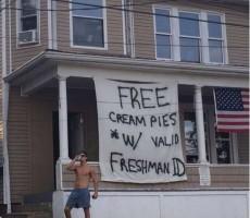 free cream pies