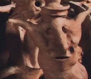 """""""You find yourself communicating with clay sculptures and your second thought is to ask why one of them isn't speaking a different language? Shit, you really are high."""""""