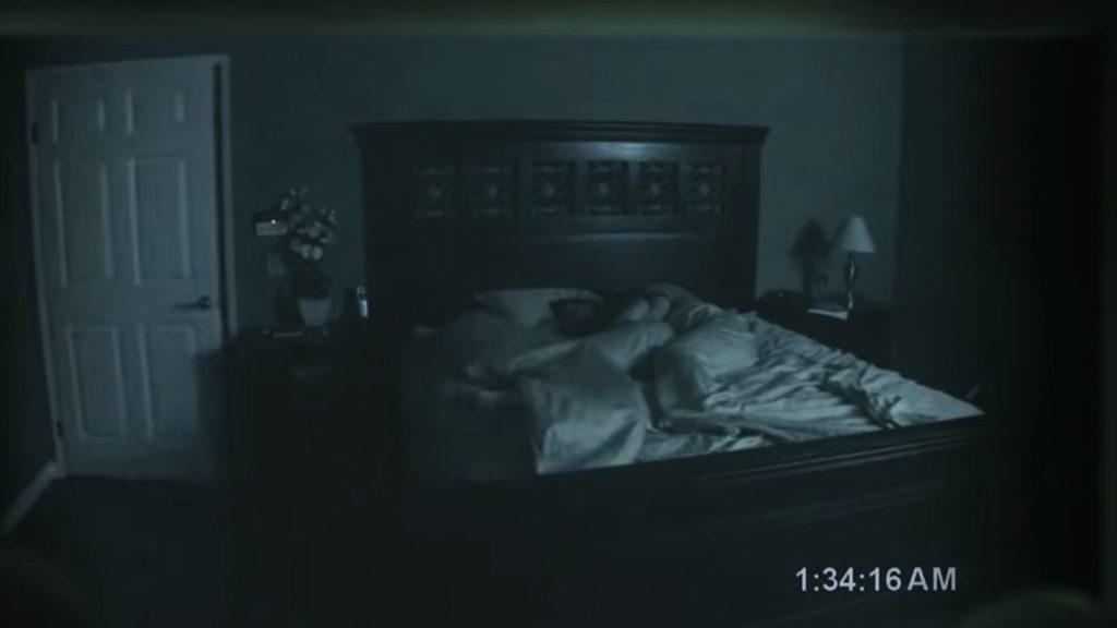 paranormal activity halloween movies