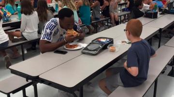 travis rudolph fsu lunch middle schooler