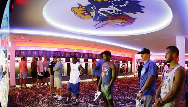 Kansas Lockerroom