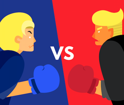 first presidential debate trump hillary
