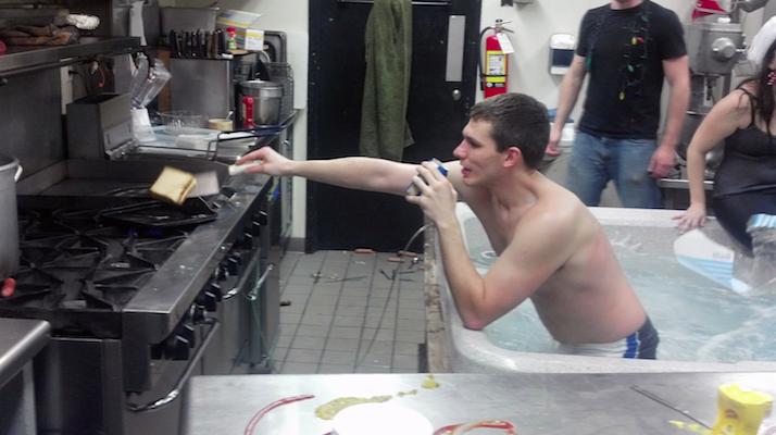 frat kitchen