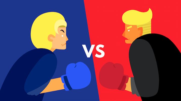 first presidential debate trump hillary