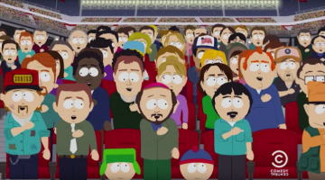colin kaepernick gets roasted on south park