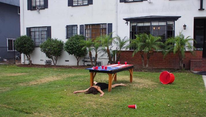 USC Fraternity Lawn