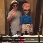 That is one fratty extraterrestrial.