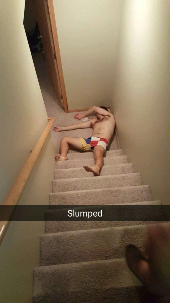 Man down.