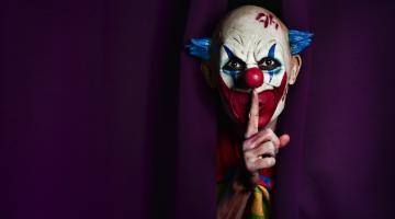 target pulls clown masks