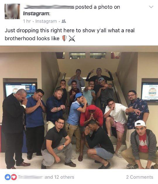 Real brotherhood for real.