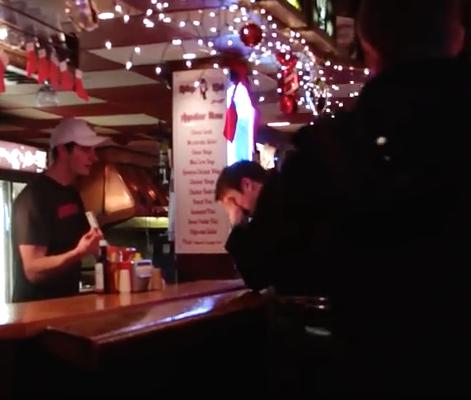 college bartender KK