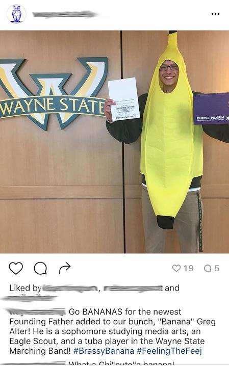 Hey look it is Banana Greg!