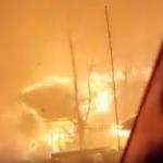Gatlinburg wildfire video escape