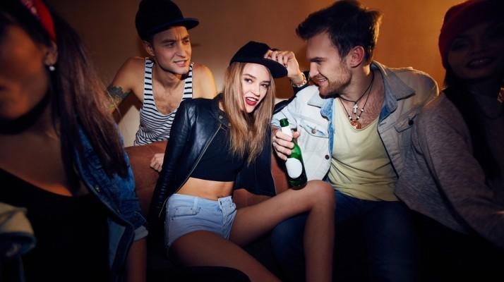 girl with guys