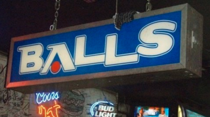 balls bookstore origin story uf