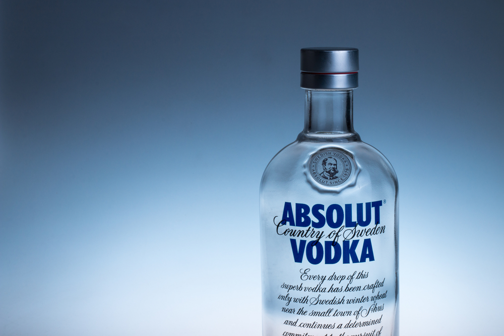 absolut vodka taster