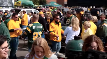 north dakota state university football ndsu fans nice