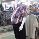 fat mannequin