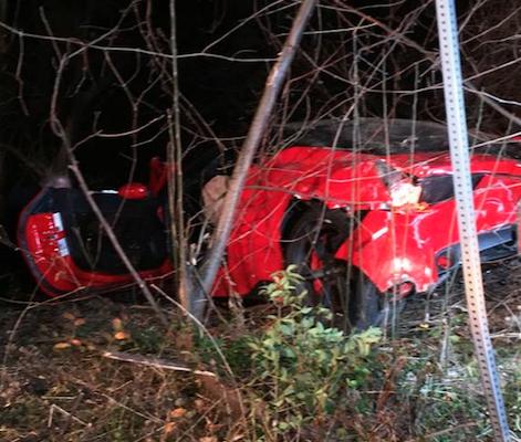 austin fire department ferrari crash