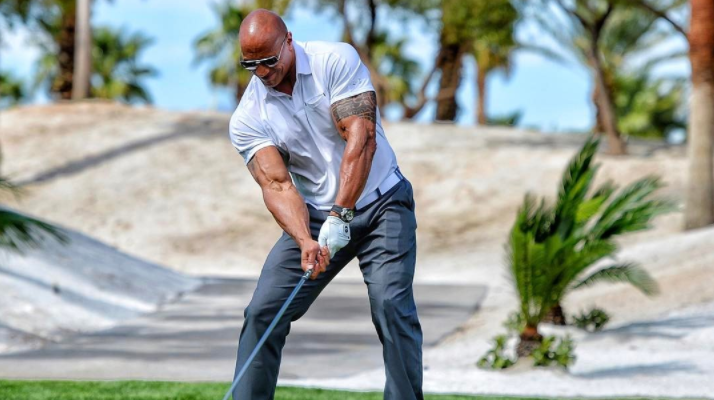 dwayne the rock johnson driver golf
