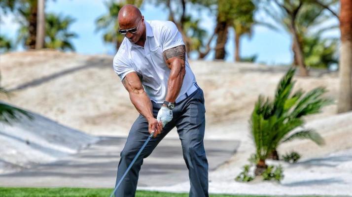 dwayne the rock johnson driver golf