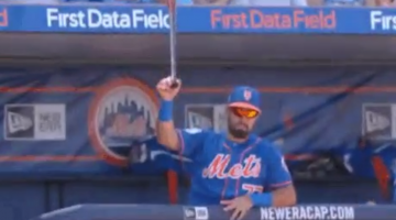 mets prospect bat catch