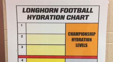 tom herman pee clear urine ut football texas