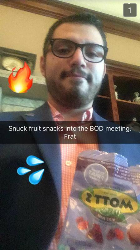 Everyone knows fruit snacks go hard.