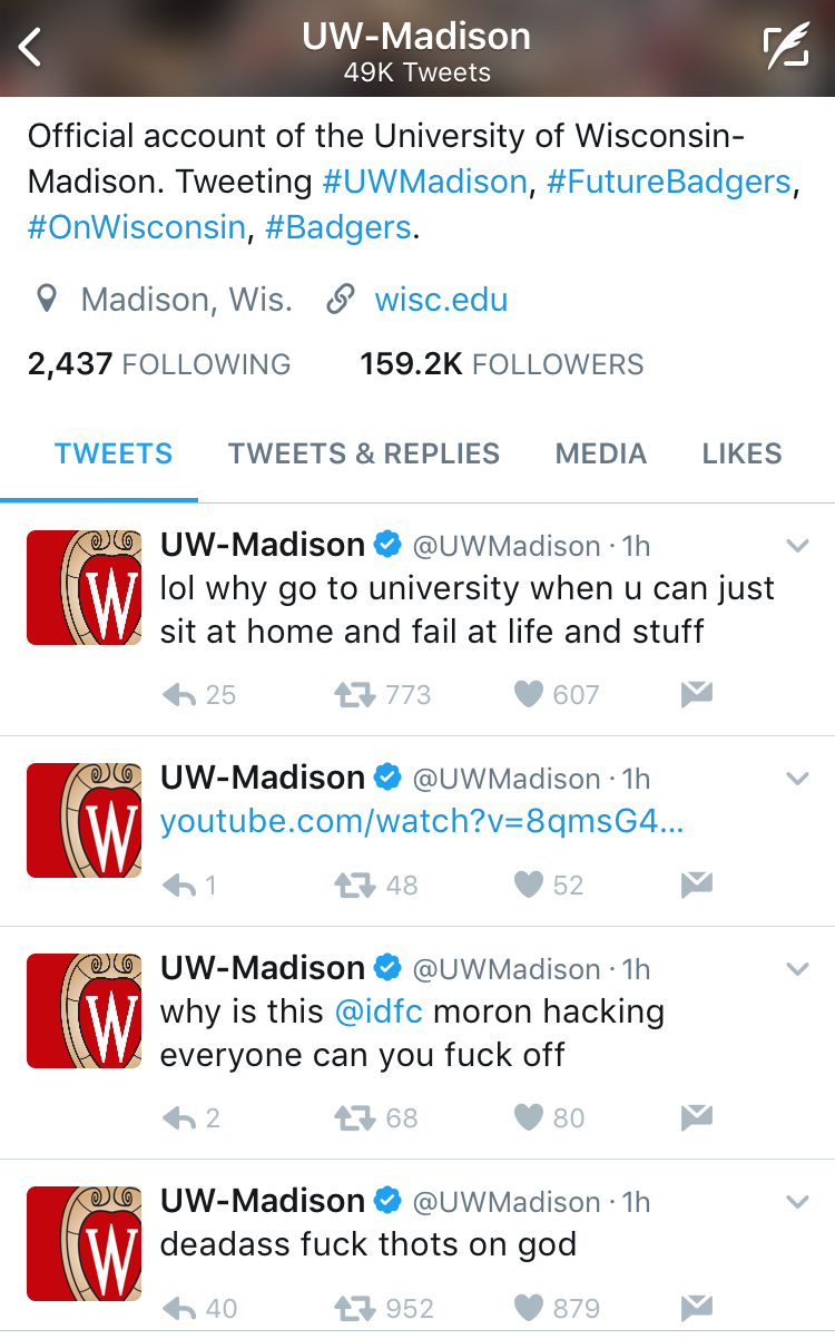 university of wisconsin-madison hack