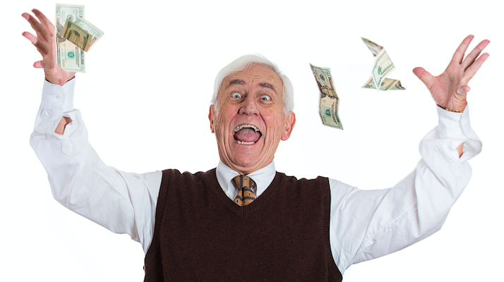 old man rich money audobon
