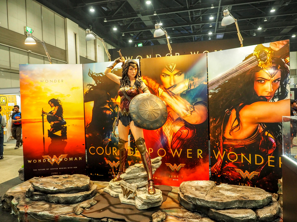 wonder woman superhero movies