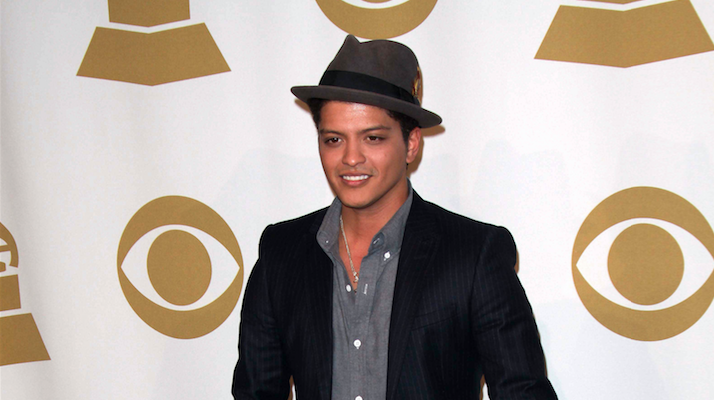 bruno mars national treasure