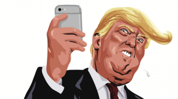donald trump tweeting toilet