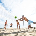 beach volleyball fun activities
