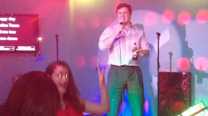 karaoke sober