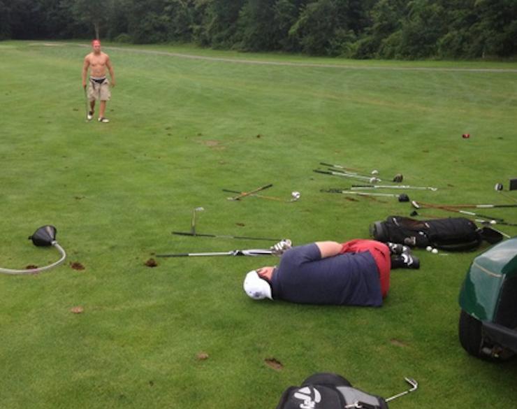 golf course marshal