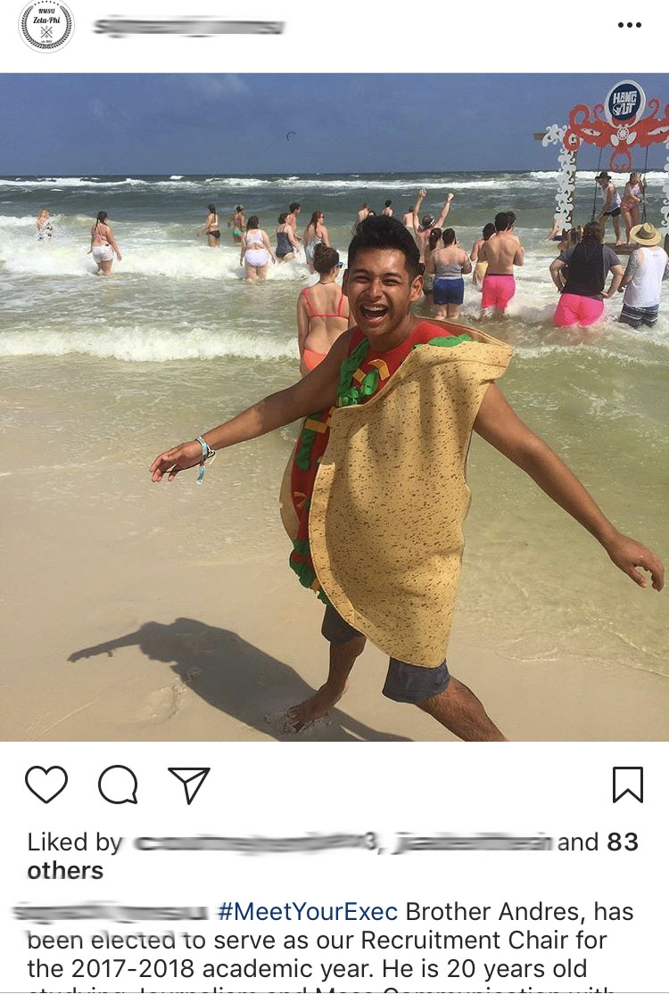 Andres is a taco.