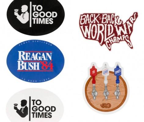 rowdy gentleman free week sticker pack