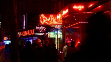 reeperbahn red light district germany hamburg