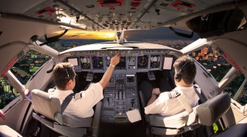 airline pilot beer cockpit