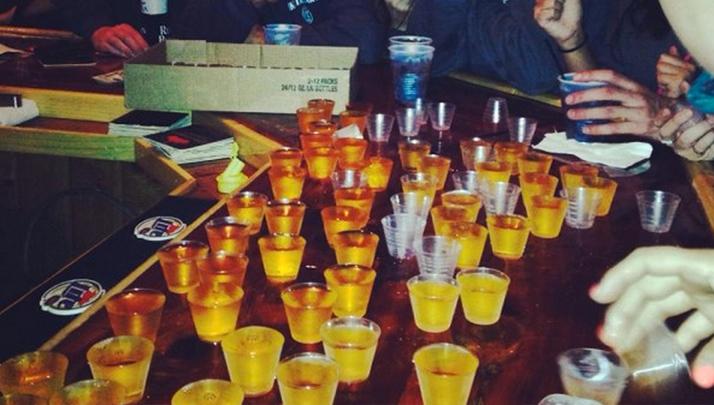 shots alcohol