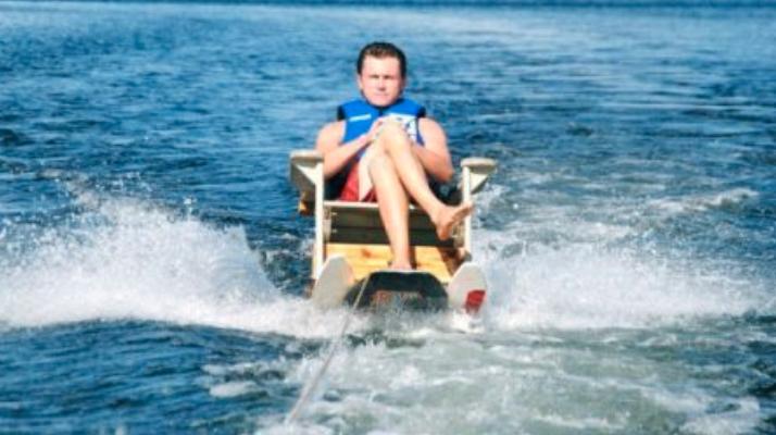 modern lake dad