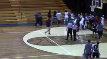 new jersey college basketball bench-clearing brawl